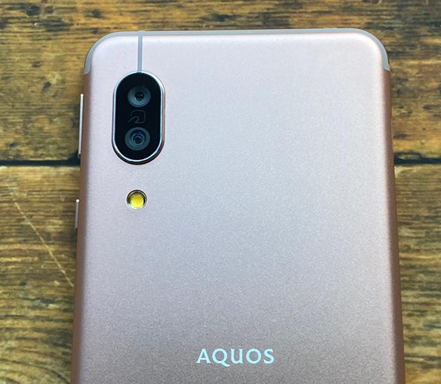 AQUOS sense 3 カメラ