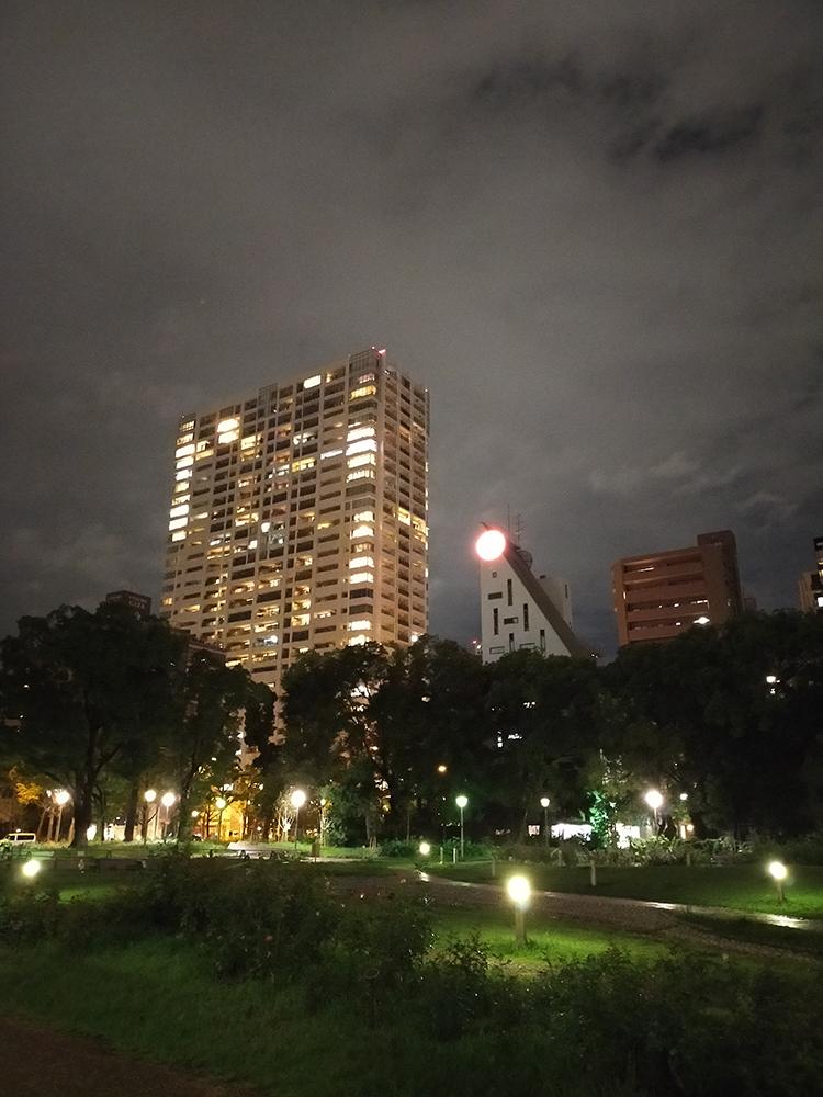 OPPO通常カメラの夜景