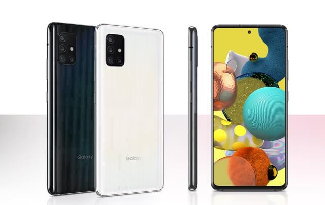 Galaxy A51 5Gのデザイン