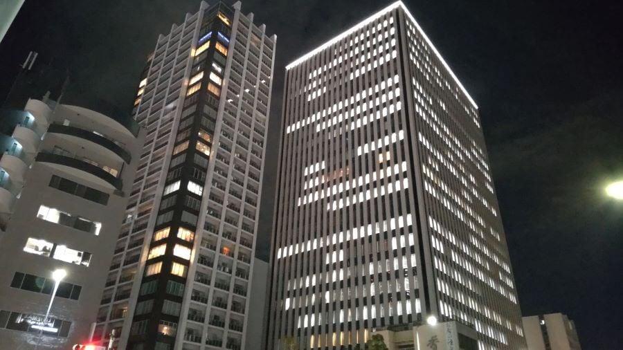 AQUOSsense4で撮った夜景