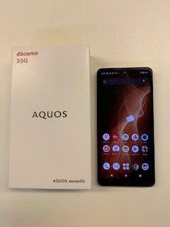 AQUOS sense5Gのセット