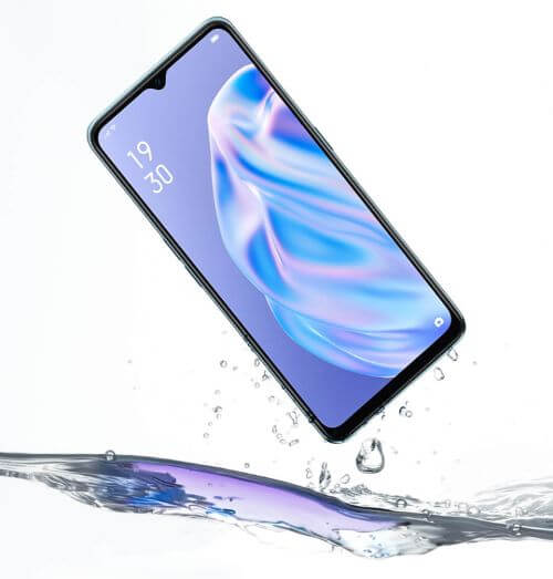 OPPO Reno3aの防水防塵性能