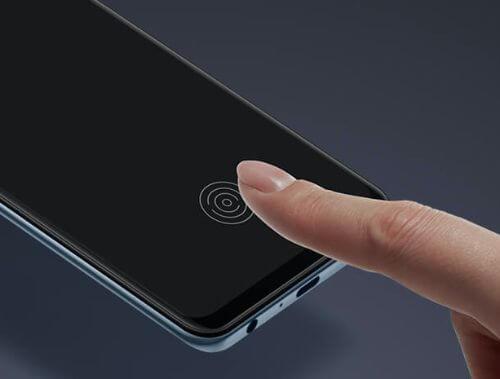 OPPO Reno3aのディスプレイ指紋認証性能