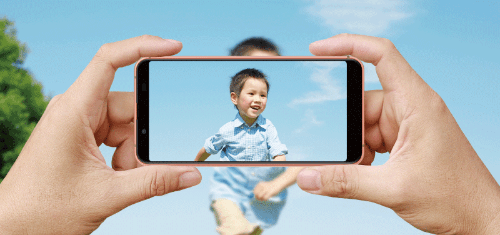 ワイモバイルS7のカメラ
