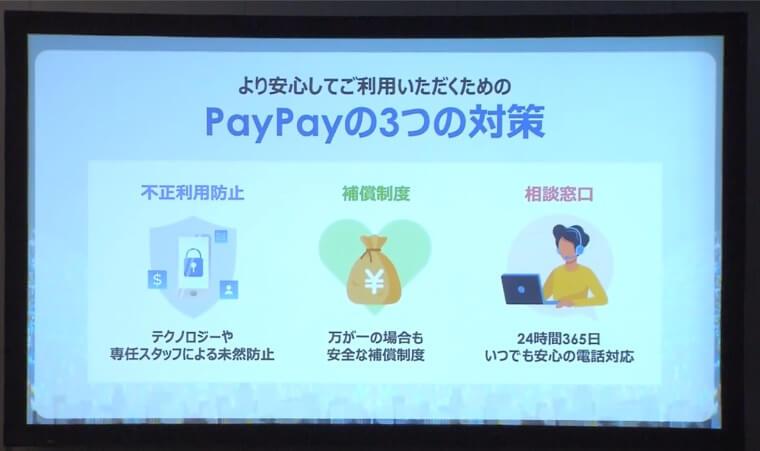 PayPay一周年記者会見スライド