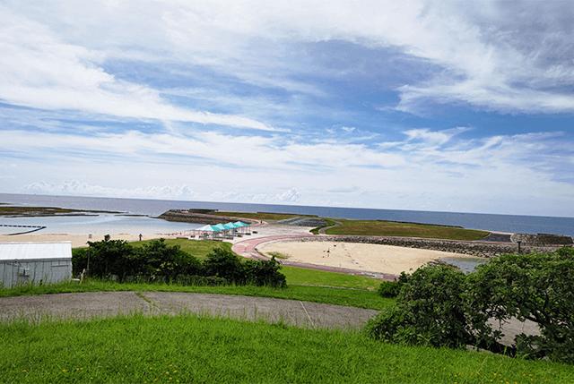 AQUOS R6広角で撮った海風景