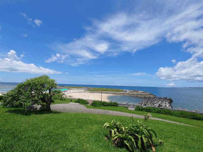 Xperia 1 Ⅲ広角で撮った海風景