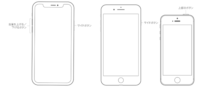 iPhone、iPad、iPod touch を再起動する