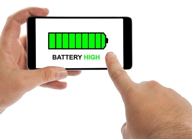 バッテリーがMAXのスマホ
