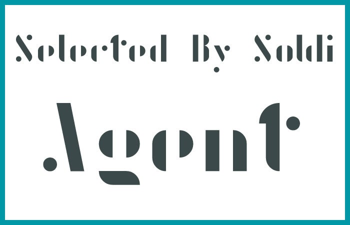 文字の一部が欠けつつもちゃんと読める不思議なフォント「Agent」