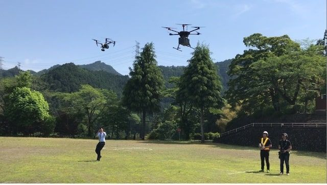 Dorone Bank「ドローン特区 東京都・あきる野市で災害時を想定した実証実験」
