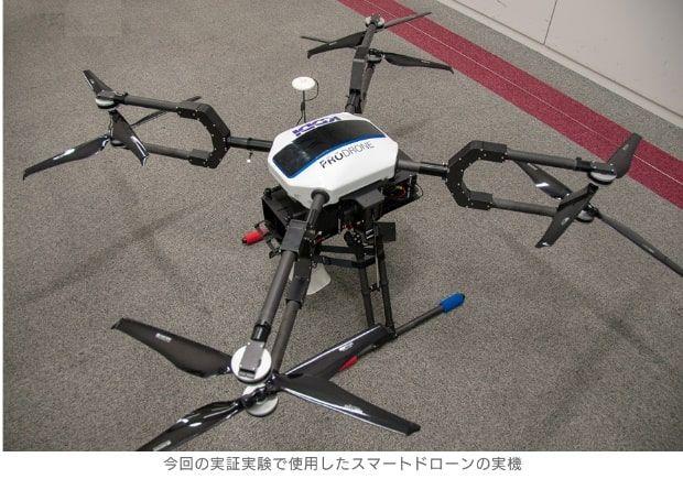 CNET Japan「KDDIら3社、ドローン警備の実証実験に成功--AIで不審者を検知し追尾」