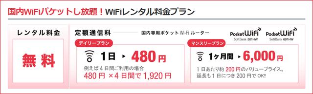 SoftBankのモバイルWiFiルーターレンタル会社「グローバルモバイル」